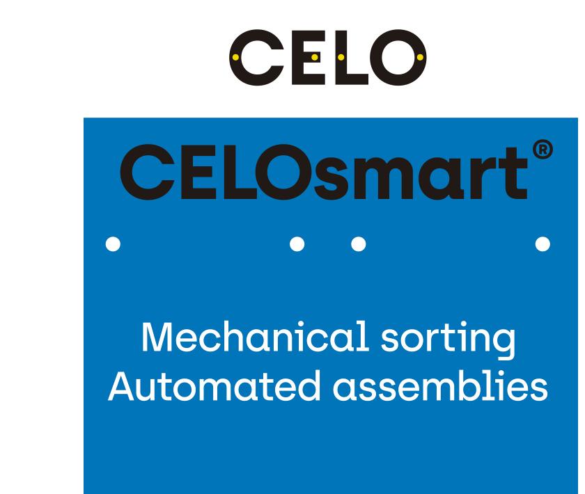 CELOsmart Mechanical sorting